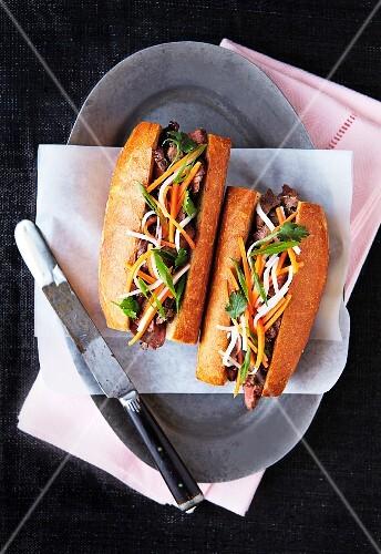 Banh Mi sandwich (Vietnam)