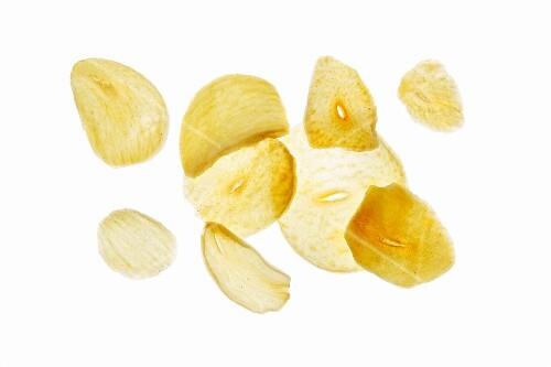 Dried garlic slices