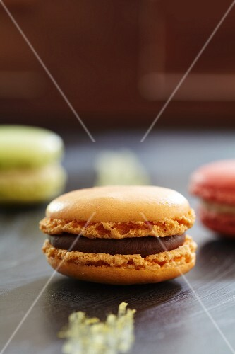 Macaroons (close-up)