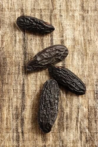 Four tonka beans