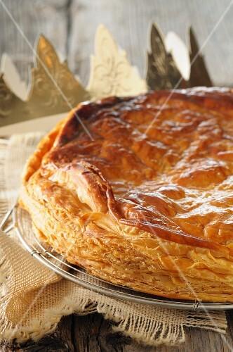 Galette des Rois (Three kings cake for Epiphany, France)