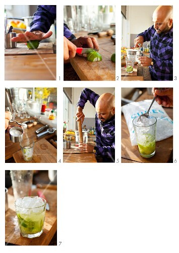 Steps to Making a Cocktail