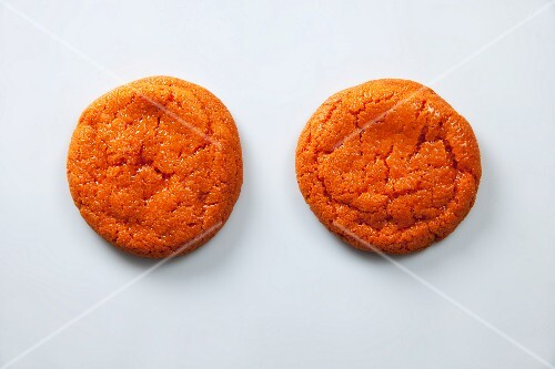 Orange biscuits