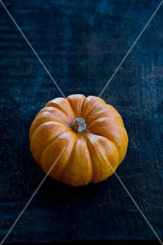 An orange pumpkin