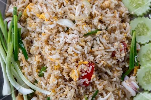 Khao Pad Poo (fried shrimp rice, Thailand)