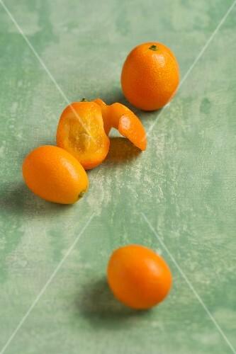 Several kumquats