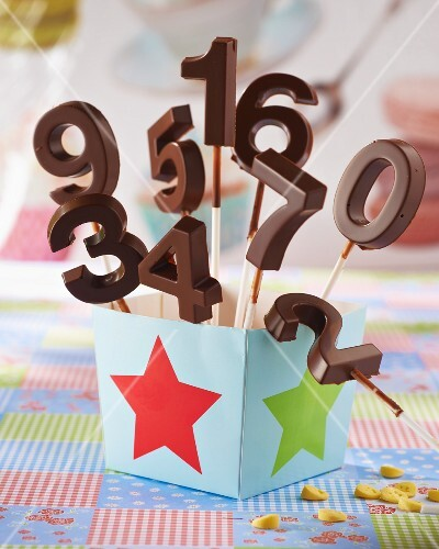 Chocolate numbers for a party