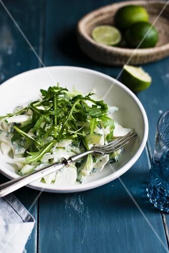 Fennel and rocket salad