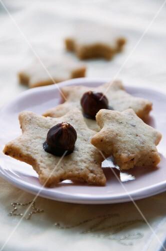 Hazelnut stars