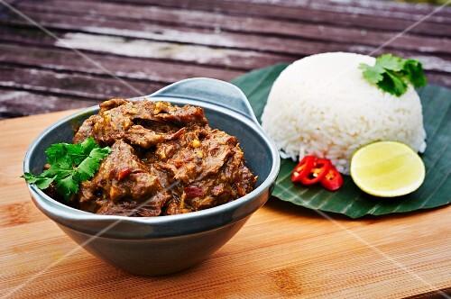 Beed Rendang from Sumatra