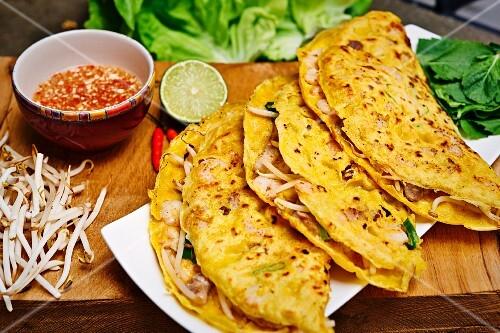 Banh Xeo - Vietnamese crepes