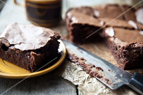 Salted chocolate brownies