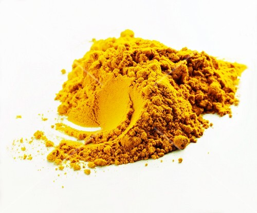 A pile of curry powder
