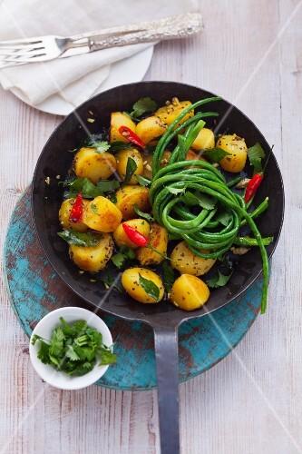 Bratkartoffeln Bombay