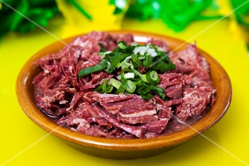 Carne seca (dried meat, Brazil)