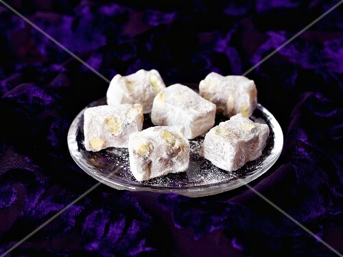 Turkish Delight with pistachios