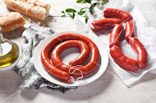 Chistorra (sausage from Navarra, Spain)