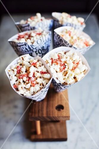 Popcorn with chilli