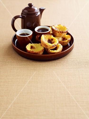 Pastel De Nata and cardamom coffee (Portugal)