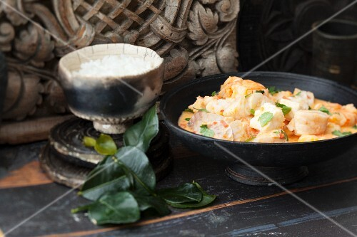 Red fish curry (Thailand)
