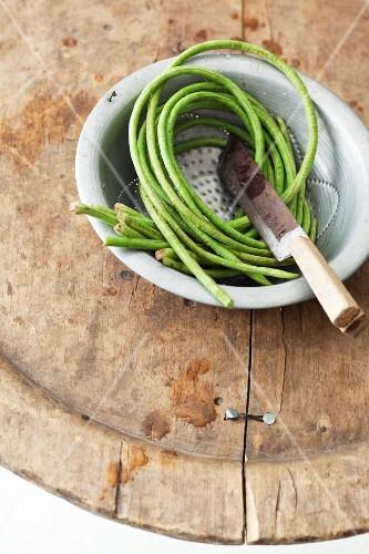 Fresh Thai yardlong beans
