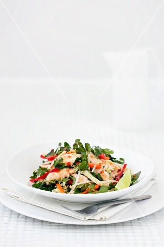 Sweet-and-sour chicken salad