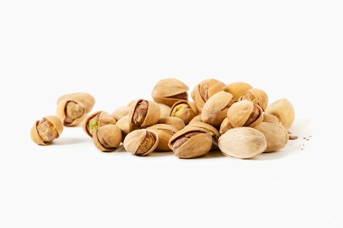 Unshelled pistachio nuts