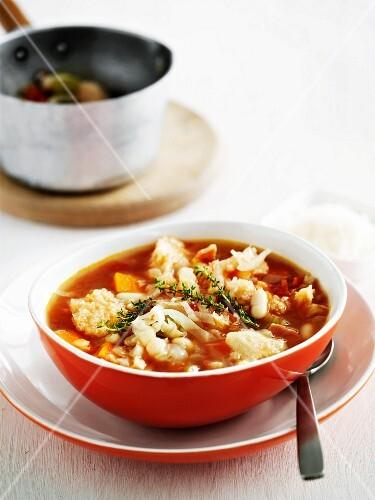 Ribollita (bread soup, Tuscany)