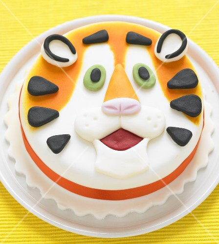 A tiger cake