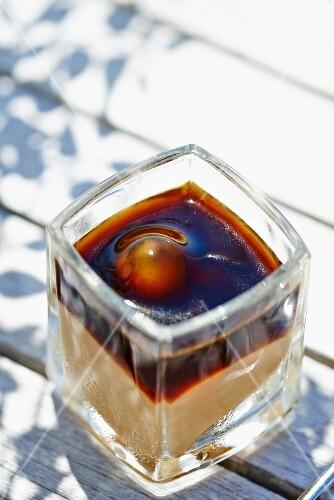 Tiramisu with coffee