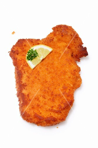 Viennese escalope with lemon and parsley