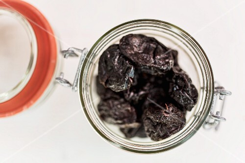 A jar of prunes