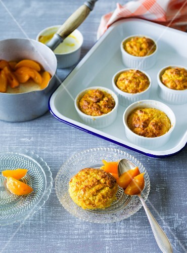 ADHD food: sweet potato soufflés with apricots