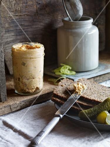 Liptauer cheese spread