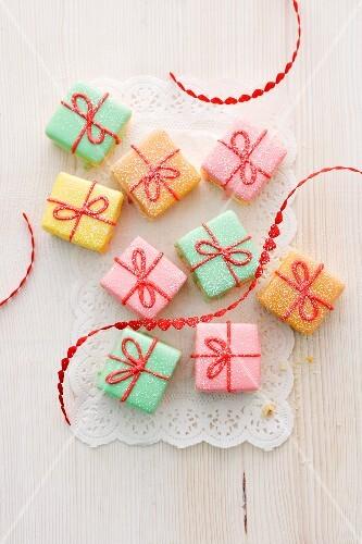 Süsse Päckchen zum Geburtstag