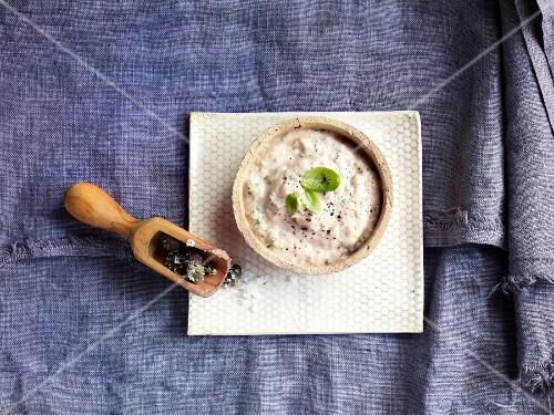 Tuna cream with capers