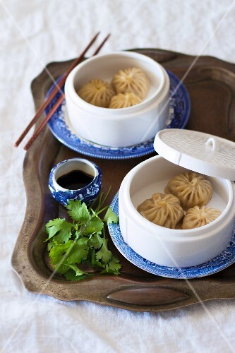Dim sum filled with duck, China