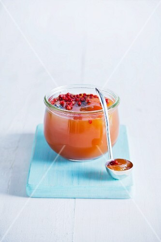 Rooibos star anise jelly