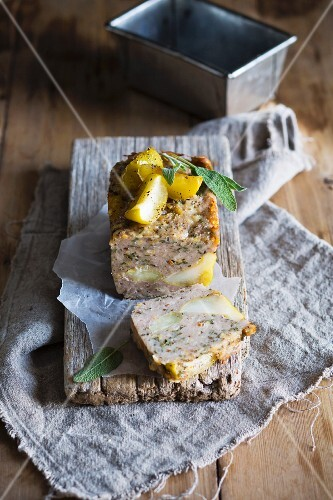 Pork terrine with apple