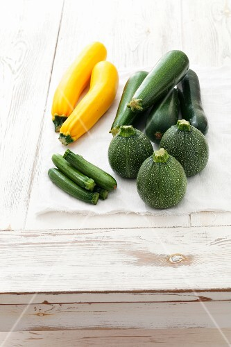 Assorted Courgettes