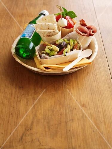 Antipasti lunch box
