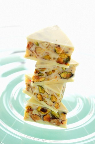 White nut cake