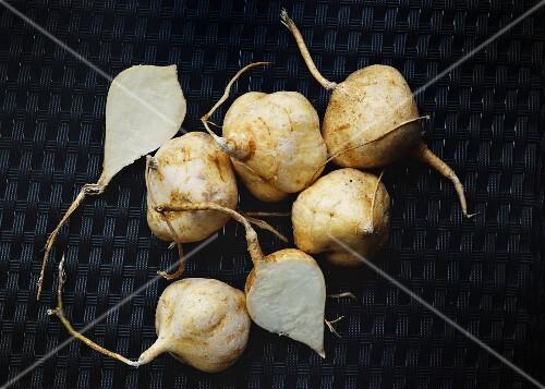 Jicama root vegetables (Thailand)