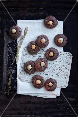 Viennese biscuits with hazelnuts (Austria)