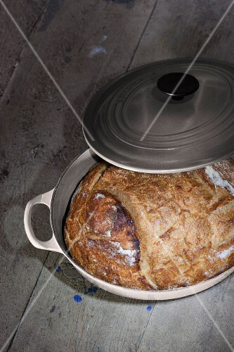 Homemade pot bread