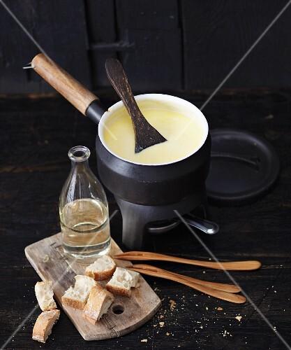 Chaecheli (cheese fondue, Switzerland)