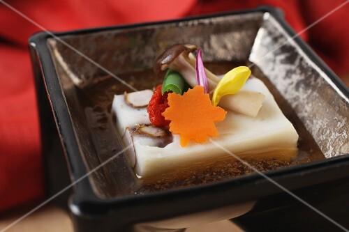 Tofu kaiseki (Japanese appetiser)