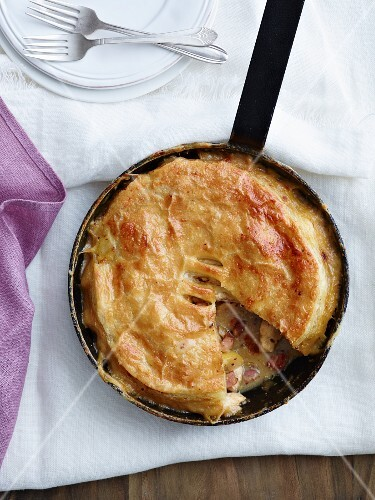 Pork and cider pie