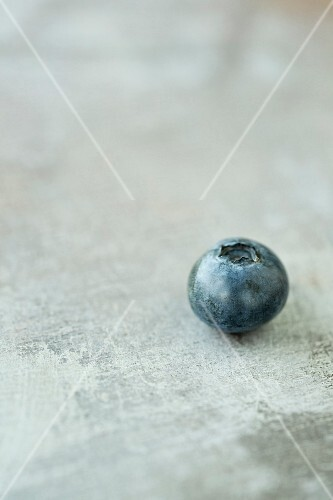 A blueberry