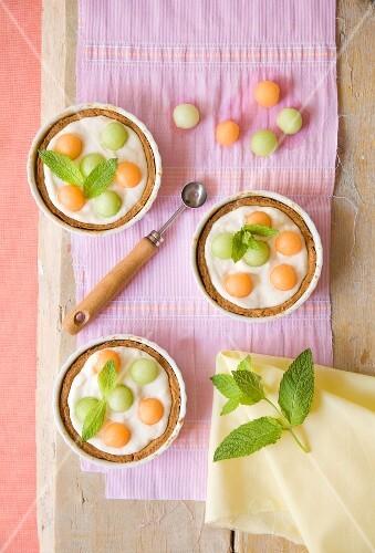Melon tarts